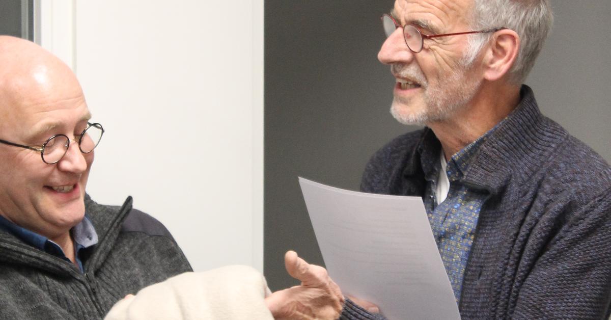 Klaas Kopinga en John Brunekreeft